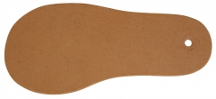 Plaques en semi cuir pour les bases des semelles classiques  59-508