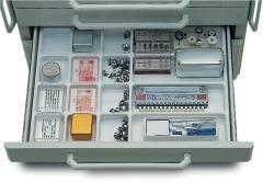 Plateaux intérieurs de tiroirs 16 compartiments 51-577