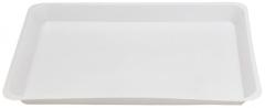 Plateaux en plastique blanc Grands 51-530