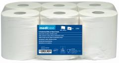 Bobines blanches d'essuie-mains en pure ouate de cellulose  53-805
