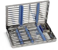 Cassettes de stérilisation Cassette mixte pour 10 instruments 50-578