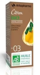 Huile essentielle Bio de Citron N°3  58-102